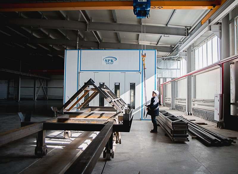 Завод SPK Group в г. Астана