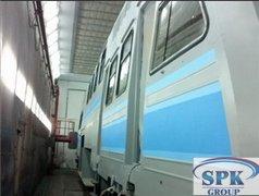Камера окрасочно-сушильная для электровозов SPK-31.6.7