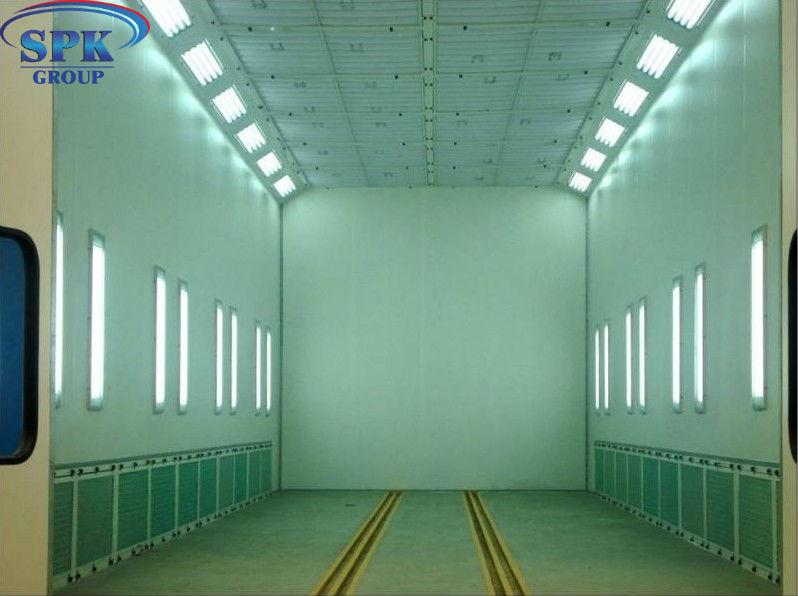 Индустриальная Окрасочно сушильная камера для металлоконструкций SPK 12.6.4