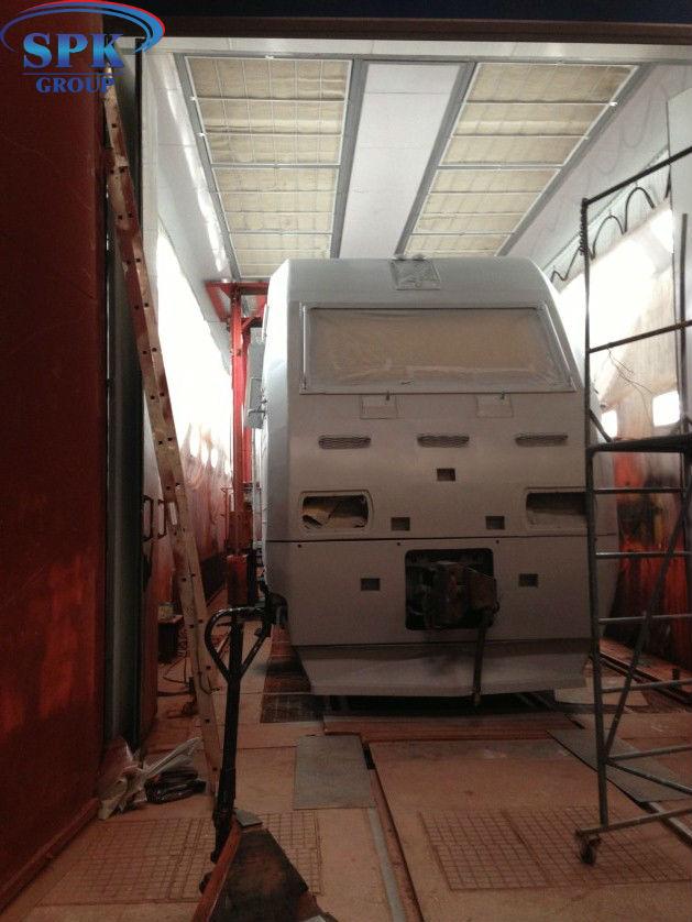 Модернизация малярной камеры для локомотивов SPK-22.6.5.6