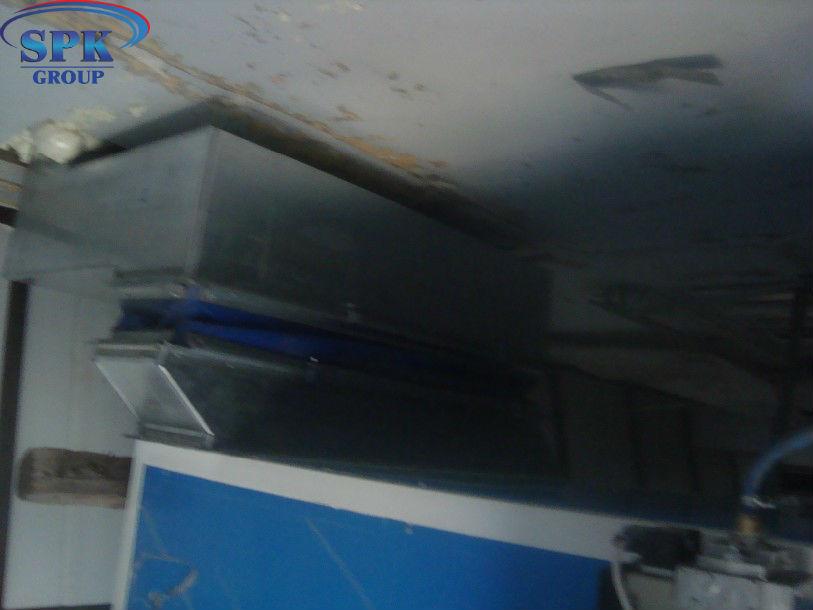 Модернизация покрасочно сушильной камеры для автобусов