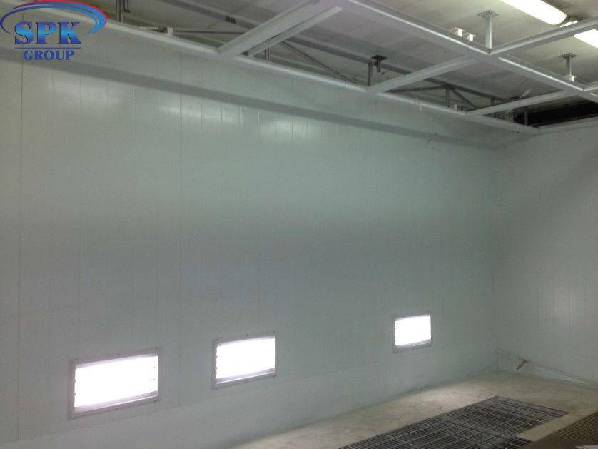 Модернизация Окрасочно сушильной камеры для спец автотранспорта