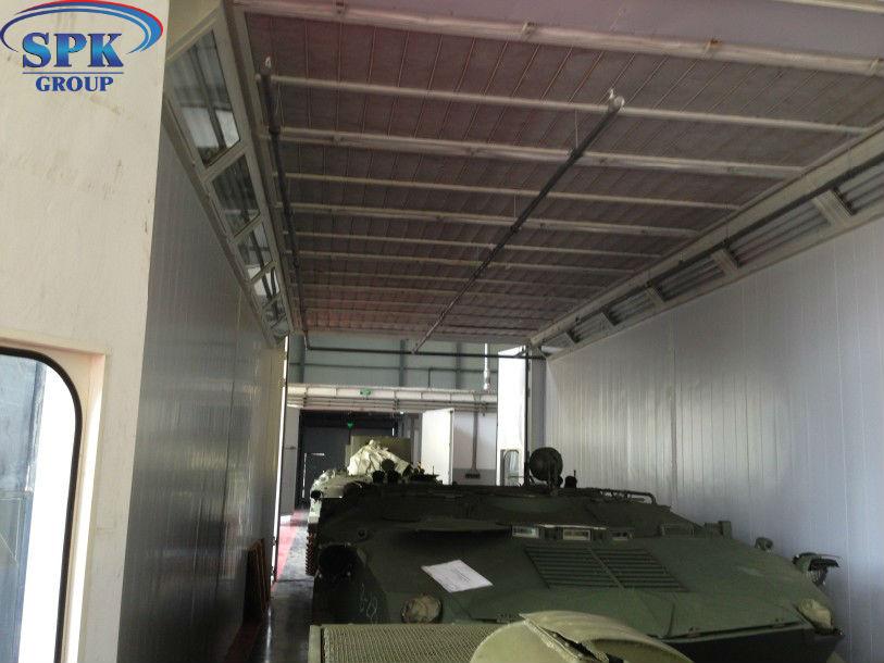 Модернизация Окрасочно сушильной камеры для военной техники