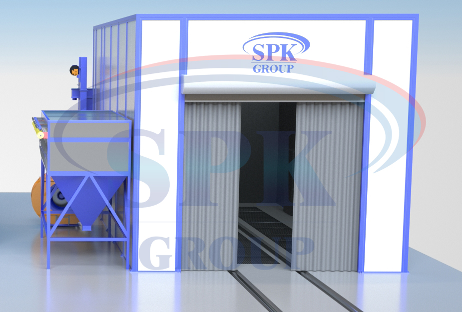 Камера дробеструйной обработки для нефтяной отрасли SPK-D 12.6.5