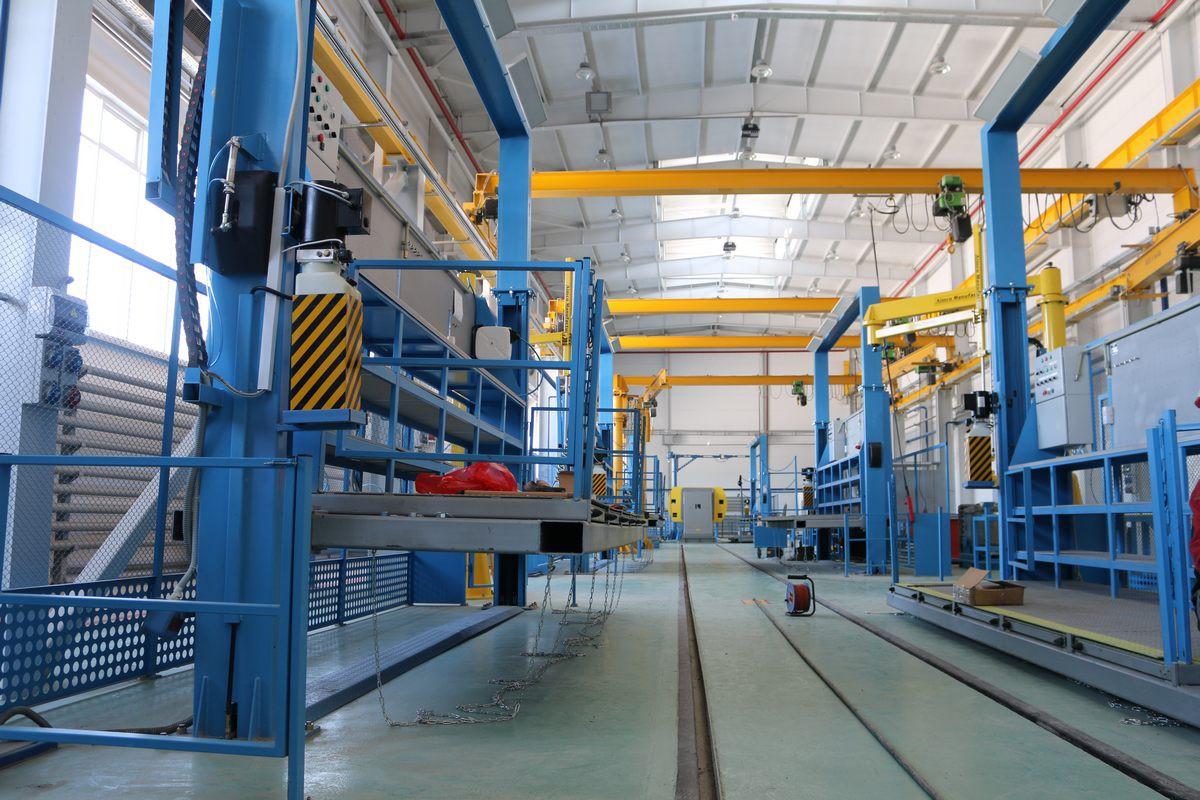 Оснащение технологической линии Завода по производству дизельных двигателей для локомотивов GEVO, г. Астана