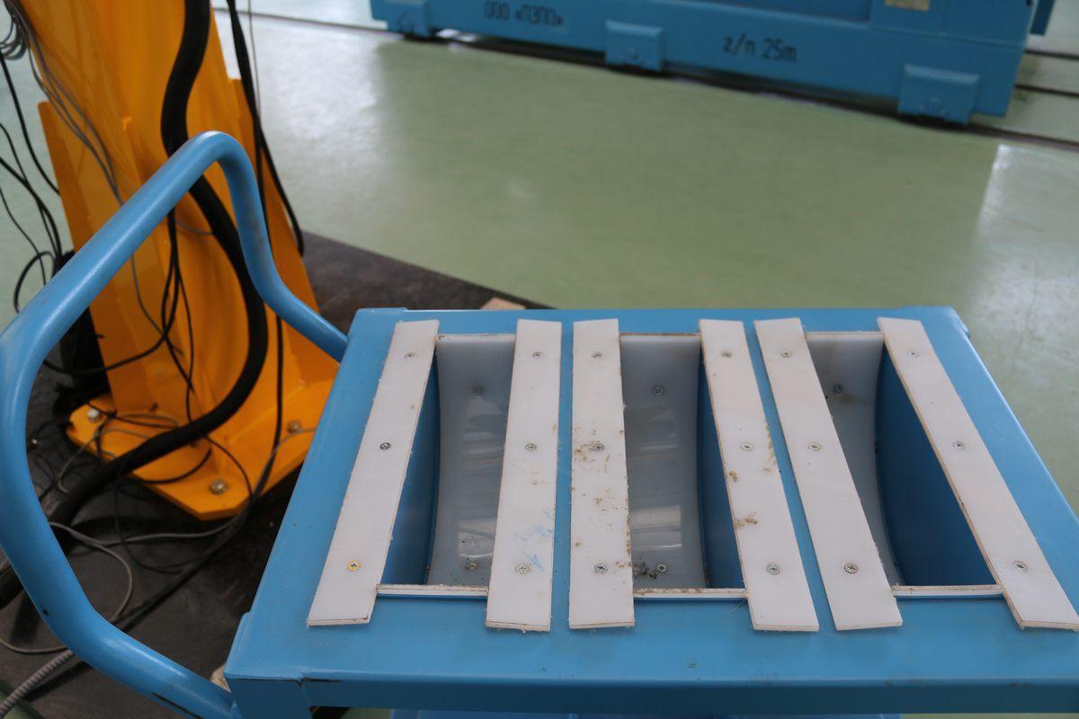 Тележка для шестерней коленчатого вала