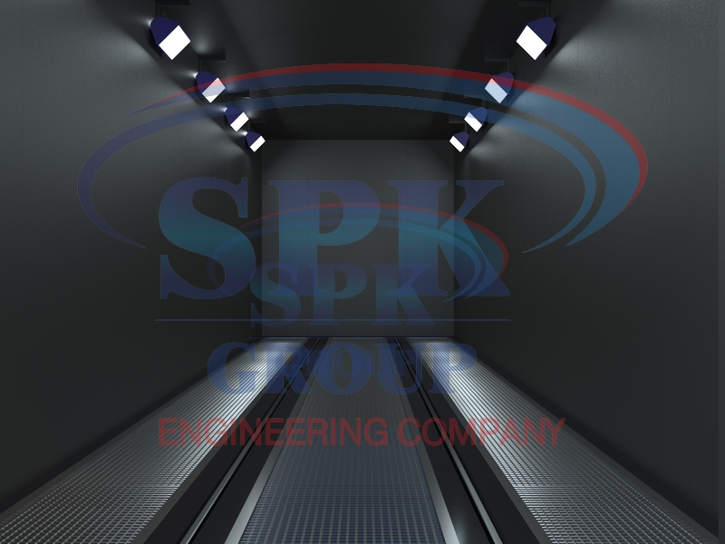 Дробеструйная камера проходного типа SPK-13.4.4