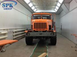Малярная камера для грузовиков SPK-17.6.5 РОССИЯ