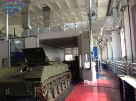 Окрасочно сушильные камеры для военной техники