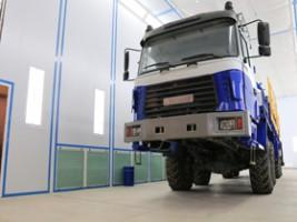 Покрасочно-сушильные камеры для грузовых автомобилей