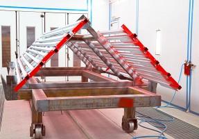 Окрасочно сушильные камеры для металлоконструкций