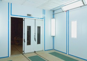 Модернизация покрасочных камер