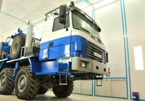 Окрасочно сушильные камеры для грузового транспорта